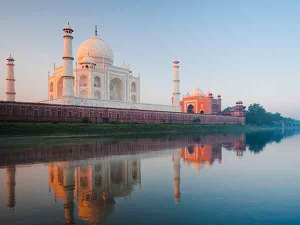 A la découverte du Taj Mahal !