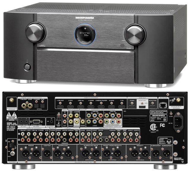 Marantz intros the AV7702 Preamp/Processor with Dolby Atmos Surround Decoding - Check out more details on what else if offers in my overview.