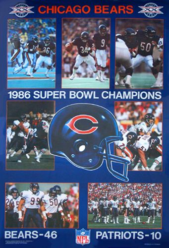 super bowl xx   Chicago Bears Super Bowl XX