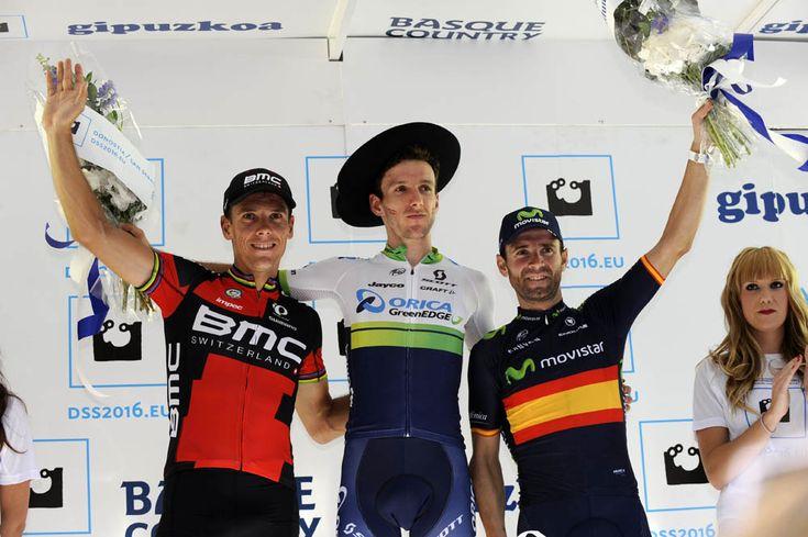 Adam Yates wins the 2015 Clasica San Sebastian