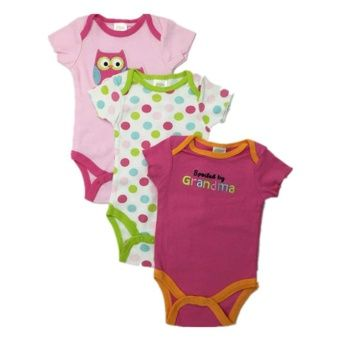 Chamie B69 Newborn Romper High Quality Carters Baby Girls Clothes 2 Pieces/Set (Red)