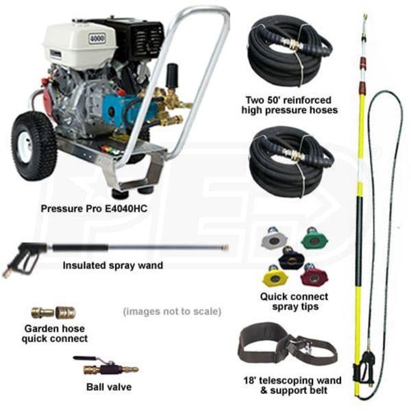 Pressure Pro E4040hc Htqb 4000psi Basic Start Your Own Pressure Washing Business Kit W Aluminu In 2020 Pressure Washing Business Pressure Washing Best Pressure Washer