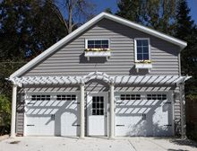 1000 images about home exterior on pinterest house for House plans with offset garage