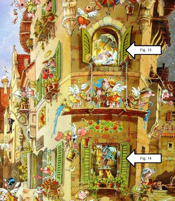 Ryba and the Cartoon Art | cartoon-puzzle.com