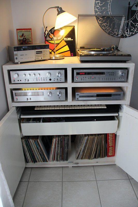 meuble audiophile diy