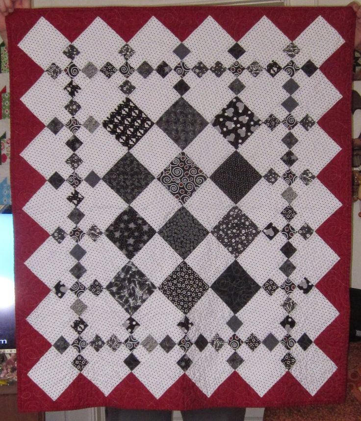 Luv 2 Stitch baby quilt for Vada