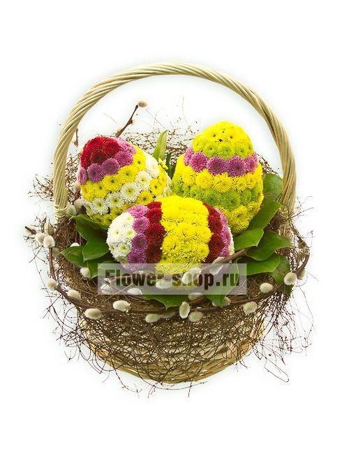 Композиция «Пасхальные яйца»