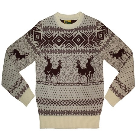 Reindeer Double Date Ski Sweater I need this! The uglier the better!