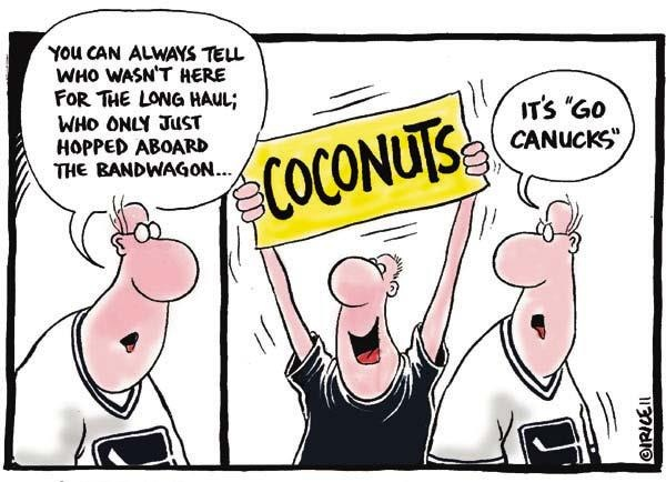 Vancouver Canucks ... hockey fans ... lol
