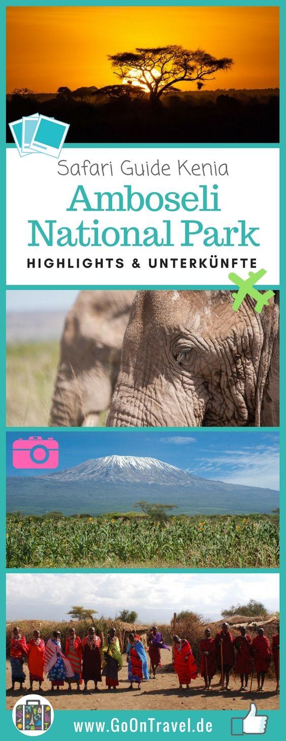 Der Amboseli National Park, an der Grenze zu Tansania, ist berühmt für seine großen Elefantenherden und den unverwechselbarem Panoramablick auf den wohl berühmtesten Berg Afrika´s – der Kilimanjaro.  #Kilimanjaro #Kenia #AmboseliNationalPark #Safari #SafariKenia