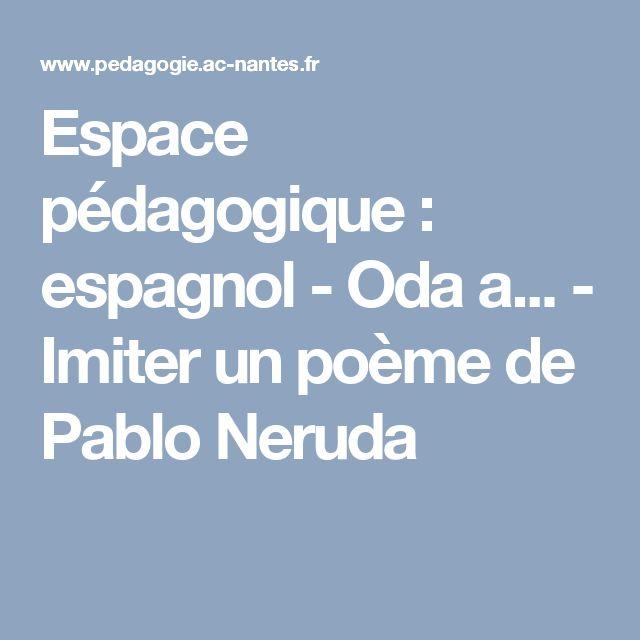 Assez Les 25 meilleures idées de la catégorie Poeme espagnol sur  VB55