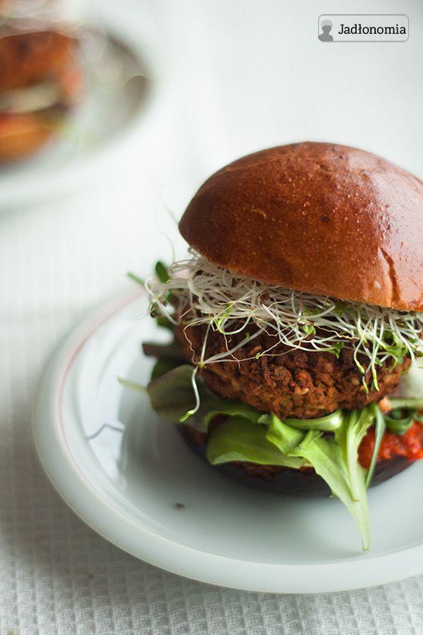 jadłonomia · roślinne przepisy: Wegańskie, bezglutenowe burgery