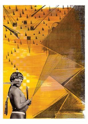 'O Chamado Tupi I' por Gabriel Nast.  Veja outras obras de Gabriel Nast em nossa galeria de arte online.  http://tintaed.com/artistas/gabriel-nast