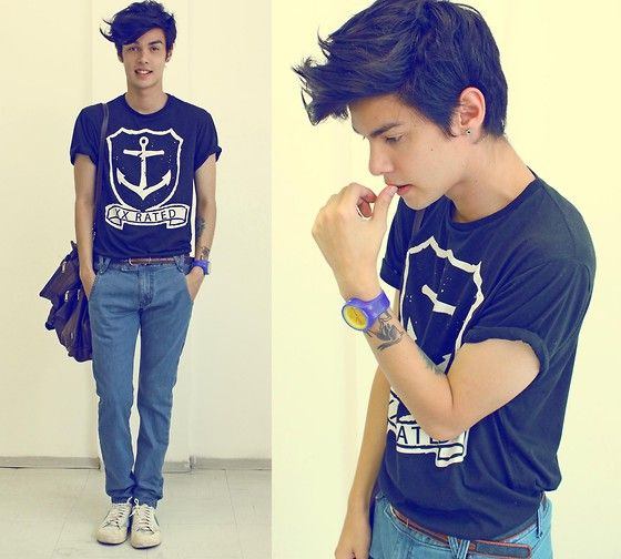 Here For You (by Vini Uehara) http://lookbook.nu/look/3195387-Your-Eyes-Lie-Tshirt-Get-Wear-Getwear-Jeans