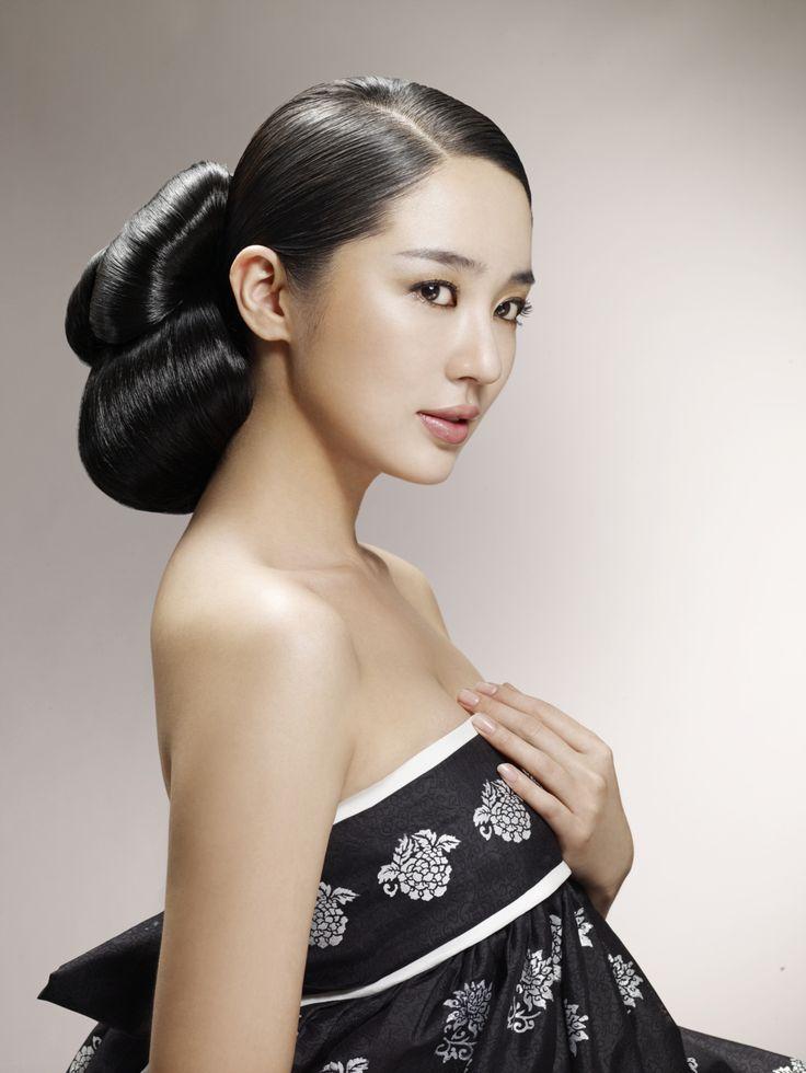 Traditional korean hairdo i miss korea pinterest Yoon eun hye fashion style in my fair lady