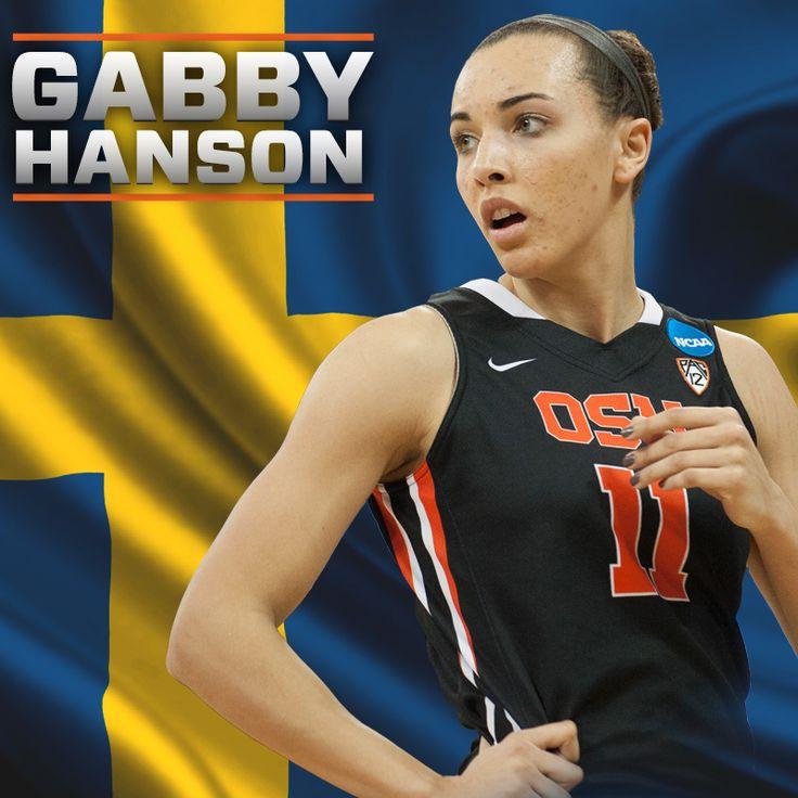 Gabby Hanson - 2014 Team Sweden. Oregon State UniversityWomen's BasketballAthletesSwedenGirls  Basketball
