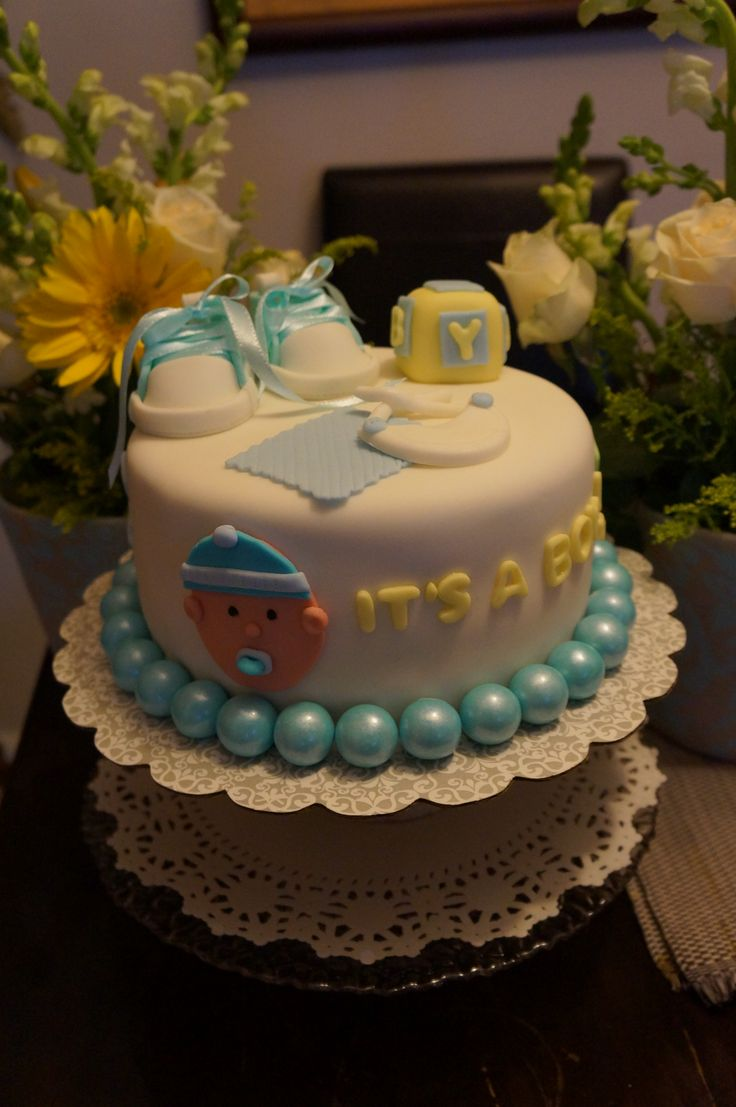 baby shower cake boy my homemade cakes pinterest