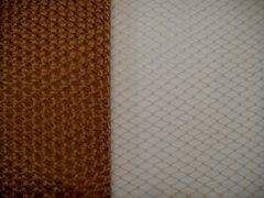 9 inch Plain Netting - Toffee