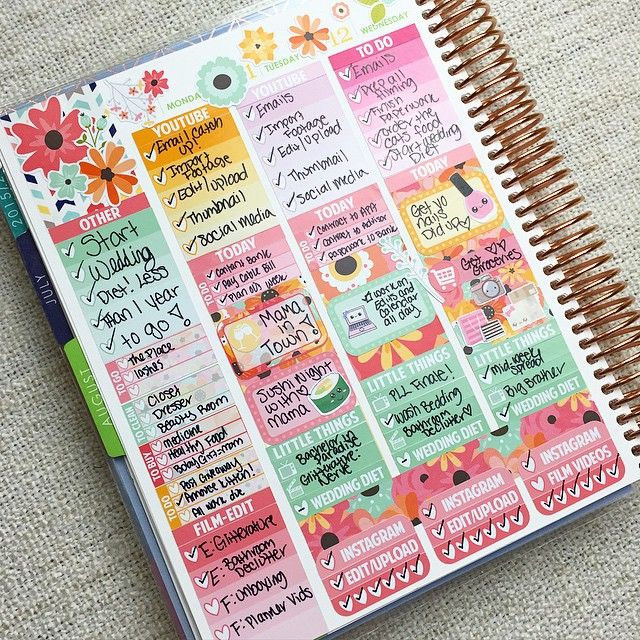 I'm back ladies! Last week (and the week before) I didn't really keep up with my planner (bad Elle) but this week I'm back! This is my mid-week spread, which I am loving so much. Sticker sources tagged! P.S. Leave your planner video requests below, I'm shooting some this week!
