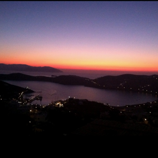 Ios Greece #sunset