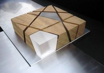 Maquette. Anastasia, I like the split cube look to this model. MJA