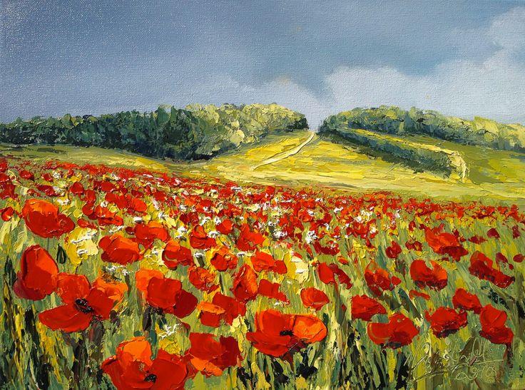 Flanders Series Mel Sebastian Oil on Canvas 30cm x 40cm www.art101.com.au