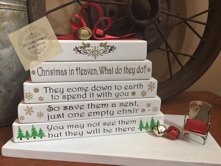Christmas in Heaven version by Country Compass decor