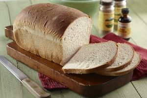 Vanilla Spice Bread Recipe | Loaves | Bread Machine Time: 1-1/2 hours  This lightly sweetened brea...