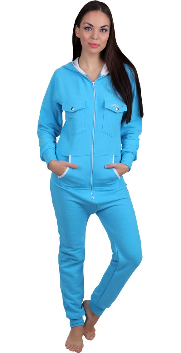 Bluecream Jumpsuit of JUmpsweat Collection !
