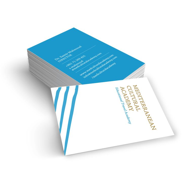 #businesscards #BC #mca #academy #blue #gold #educationallogos #travel #traveling #travelingcompany #mediterranean #cultural