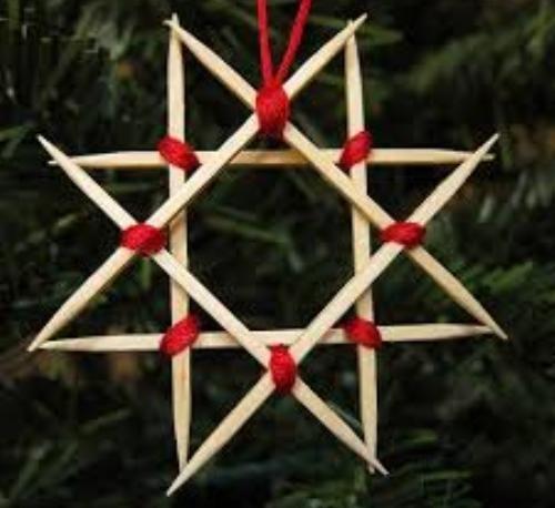 Crea il tuo addobbo natalizio, grazie a legno di riciclo e un po' di fantasia si possono creare decorazioni di Natale con il legno originali e personalizza