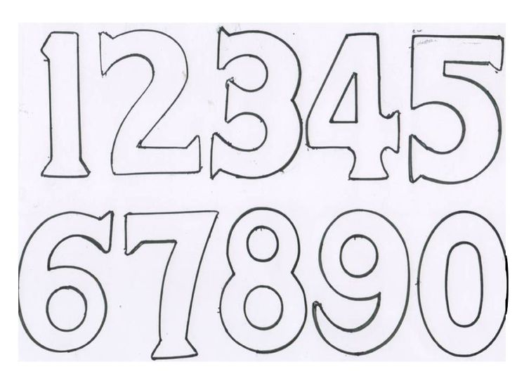 number 1 birthday cake template - 47 best numbers stencils images on pinterest letters