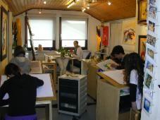 Kindergeburtstag - kunstschule Quici Rheinfelden