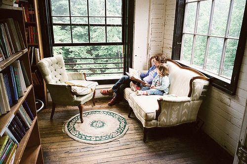 cozy library room | Flickr