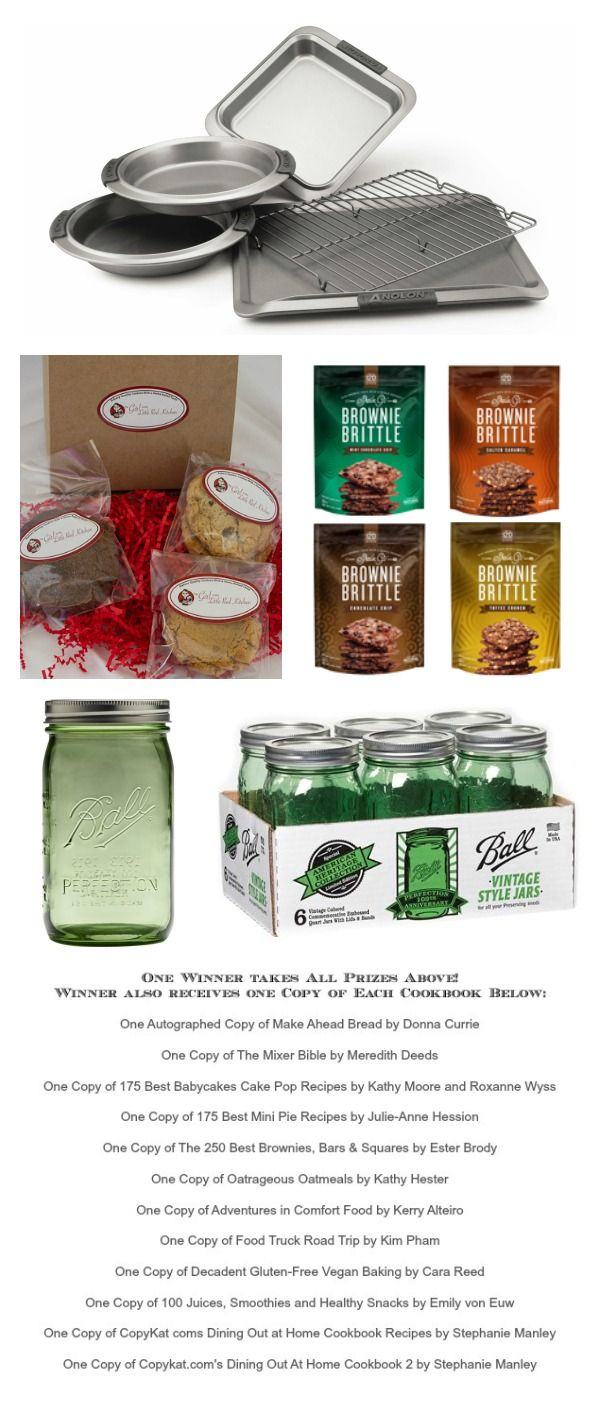 Christmas Week Giveaway Collage Hosted by Cravings of a Lunatic and The Girl in the Little Red Kitchen