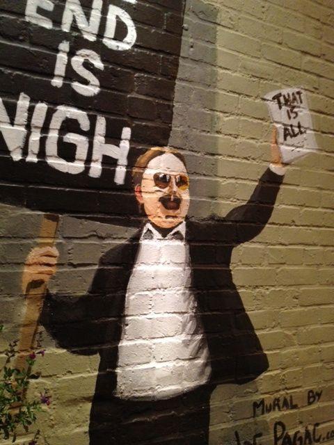Fuck. Yes.: John Hodgman, Tucson, Posts, Murals, Awesome Stuff