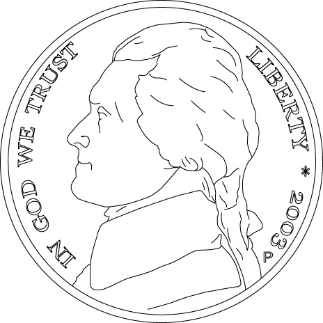 coins coloring pages - photo#24