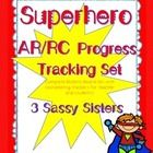 The ultimate Accelerated Reader / Reading Counts bulletin board tracking set....includes:  *  Variety of superkid characters for individual student...