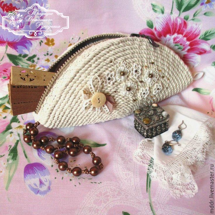 Купить сумочка - косметичка Бохо - маленькая сумочка, театральная сумочка, вечерняя сумочка