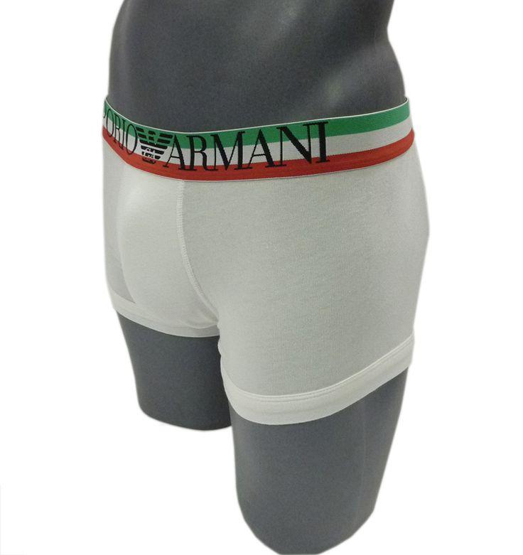 Calzoncillo Empori Armani. Bóxer blanco.Descubre la nueva colección. http://www.varelaintimo.com/ #boxer #emporioArmani #menswear #mensunderwear