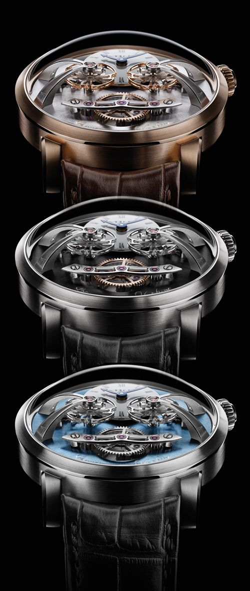 An unexpected new line MBandF the Legacy Machine N°2 (PR/Pics/Watch http://watchmobile7.com/data/News/2013/09/130903-MBandF-machine_legacy_2.html) (2/6) #watches #mbandf
