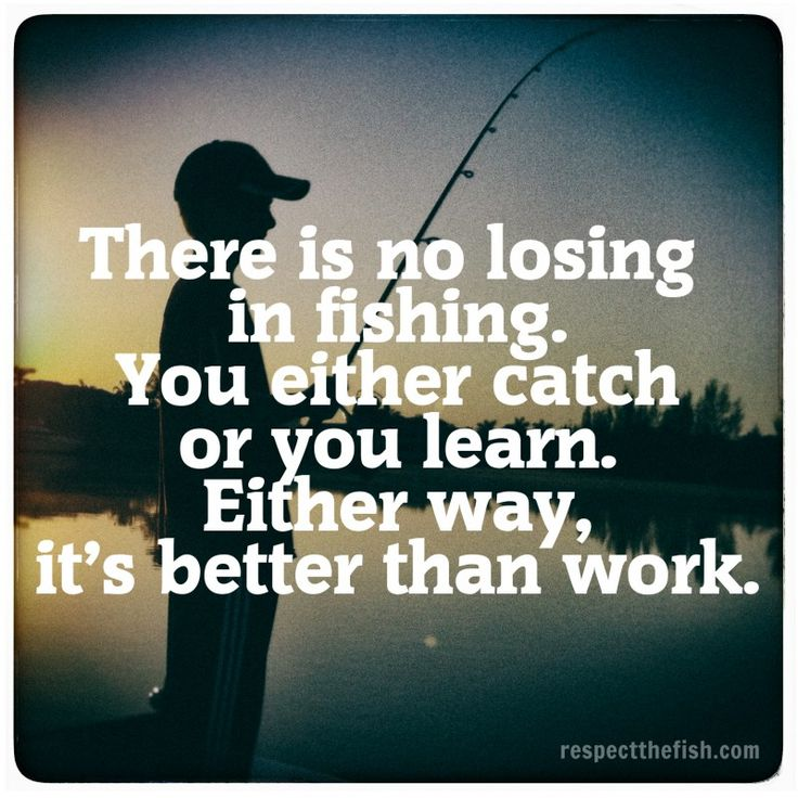 You catch or you learn. #respectthefish For more original #fishing posts, visit respectthefish.com.