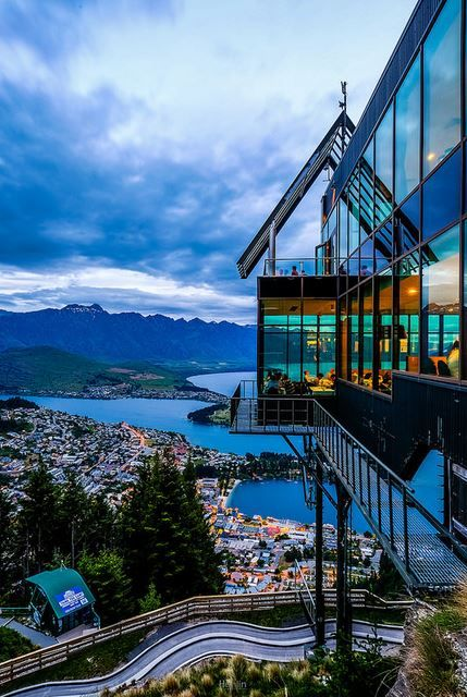 View from the Skyline Restaurant, Queenstown, New Zealand | Han Lin Teh (tehhanlin), on Flickr.