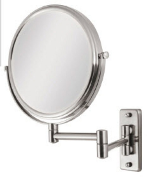 The 25 best wall mounted magnifying mirror ideas on pinterest 5 times magnification chrome wall mount magnifying mirror aloadofball Choice Image
