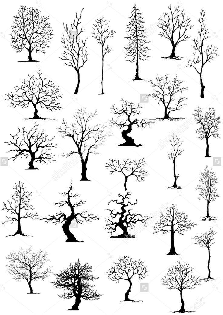 Bäume zeichnen #baume #zeichnen