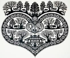 Image result for Swiss decoupage paper designs