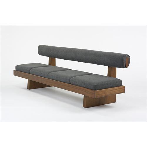 Banca madera tapizada tapiceria pinterest stools - Tapiceros de sofas en logrono ...