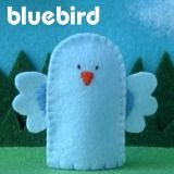 bluebird finger puppet whole page of felt finger puppets. Obviously not paying $5 a piece plus $3.00 shipping.. but some great ideas to copy!!!!!!!