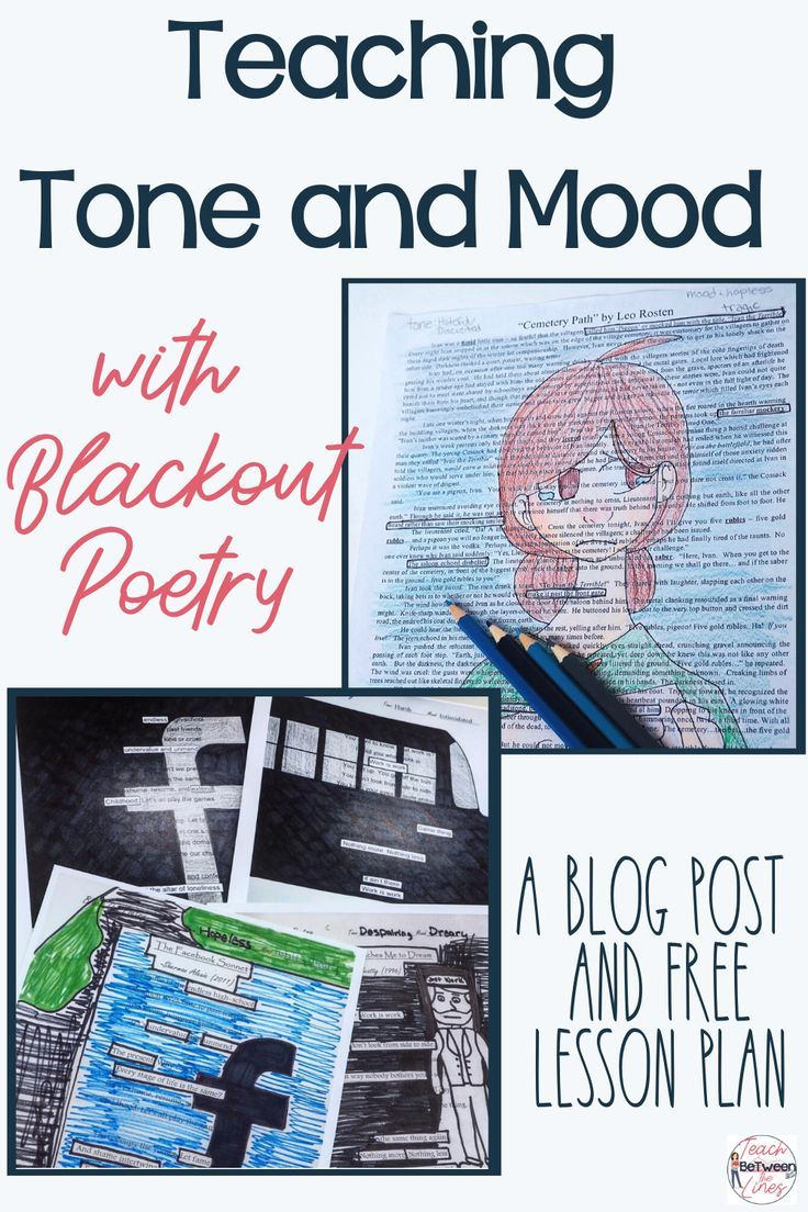 Teaching Tone and Mood with Blackout Poetry — Teach