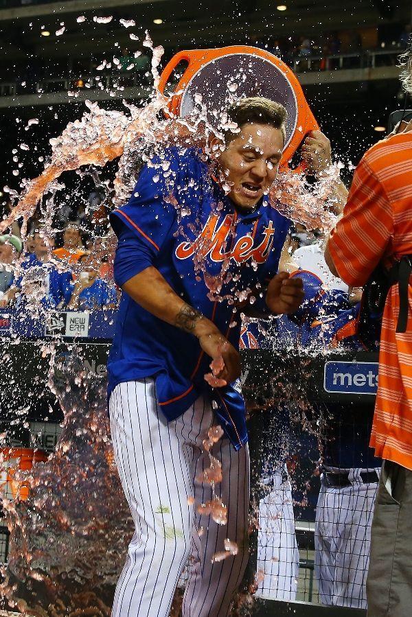 Wilmer Flores, NYM, walk-off !! v WSH // July 2015